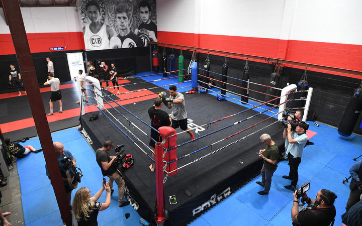 City Kickboxing gym in Auckland
