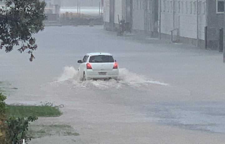 Floods in Napier, November 9, 2020.