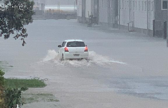 Flooding in Napier, 9 November, 2020