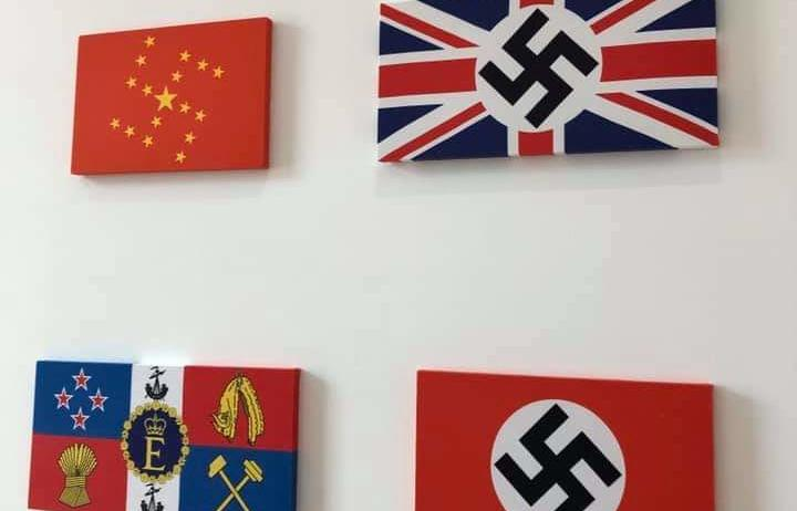 Racist art at Mercy Pictures Auckland exhibition