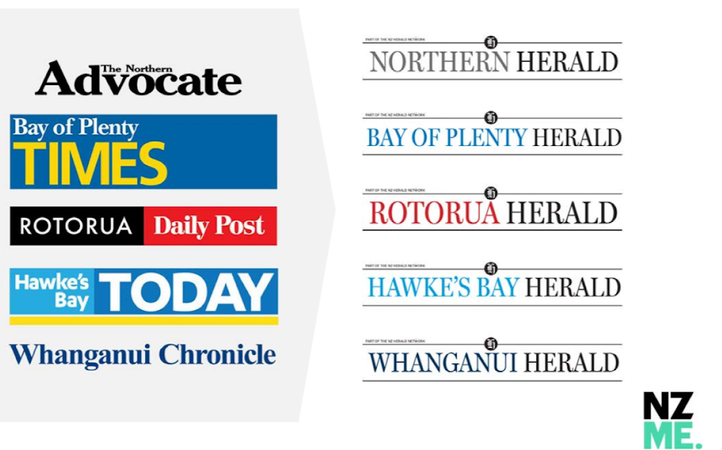 NZME's briefing for investors proposes changing the names of its North Island daily newspapers to boost the reach of its 'Herald' brand.