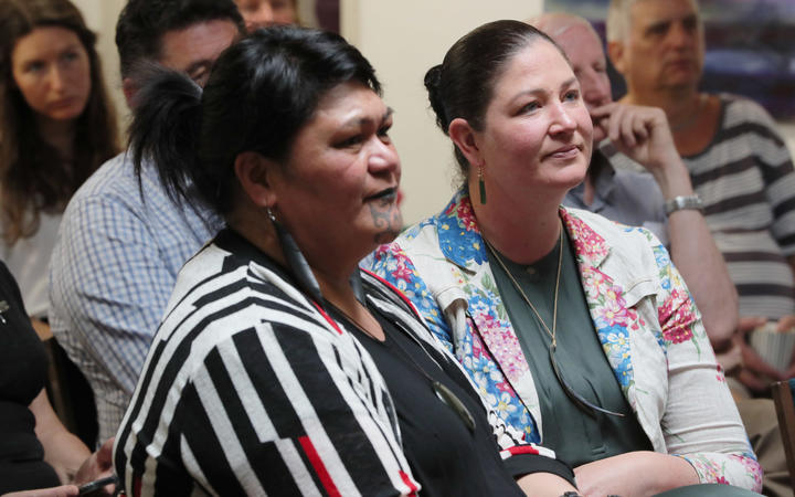Nanaia Mahuta, left and Willow-Jean Prime. Mahuta may take away the option of voters to call for a poll to overturn Maori wards.