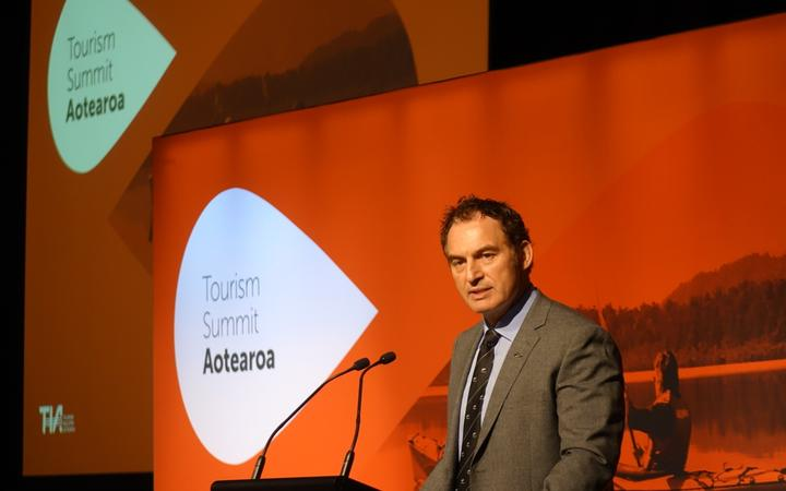 Stuart Nash gave his first speech as Tourism Minister at Tourism Summit Aotearoa at Te Papa in Wellington.
