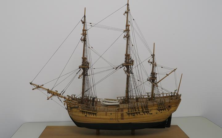 The museum accepted a historical wooden Endeavour model from the council earlier this year, which was commissioned to mark the first century of local government in Poverty Bay.