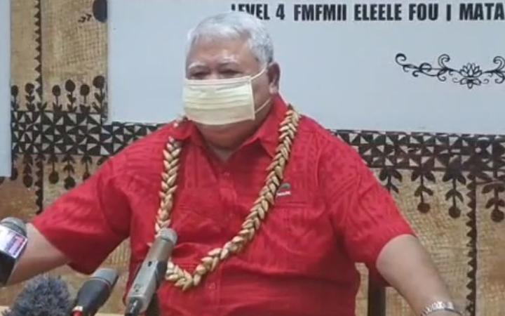 Samoan PM, Tuila'epa Sa'ilele Malielegaoi