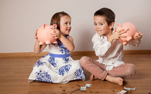 The British survey showed boys were paid $14.46 a week in pocket money, while girls were given $12.85.