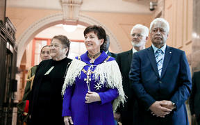 Governor-General Dame Patsy Reddy at the State Opening of Parliament
