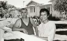 Sir Graham Latimer and his wife, Emily, in 1987