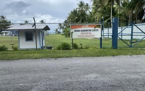 The government's Arrak Quarantine Centre on Majuro