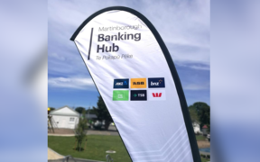 The new Martinborough banking hub.