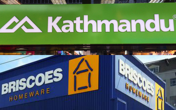 Kathmandu says Briscoe Group owes it money for a failed takeover bid.