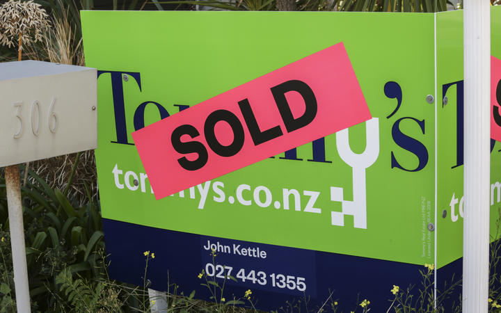Sold sign Housing generic