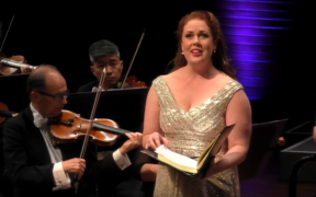 Soprano Anna Leese at NZSO Messiah 2020