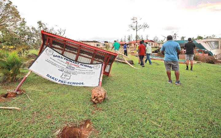 Cyclone Yasa Aftermath Widespread Destruction Rnz News