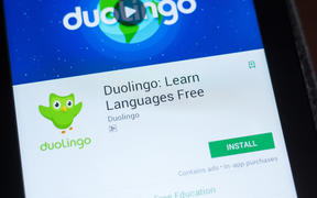 Duolingo: Learn Languages Free icon in the list of mobile apps