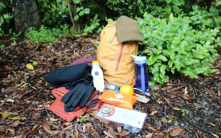 Some of the gear worth taking tramping to stay safe.