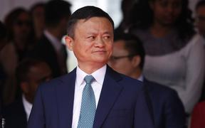 Chinese founder of e-commerce platform Alibaba Jack Ma pictured in 2019.