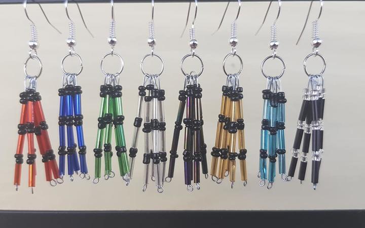 Poi Creation earrings.