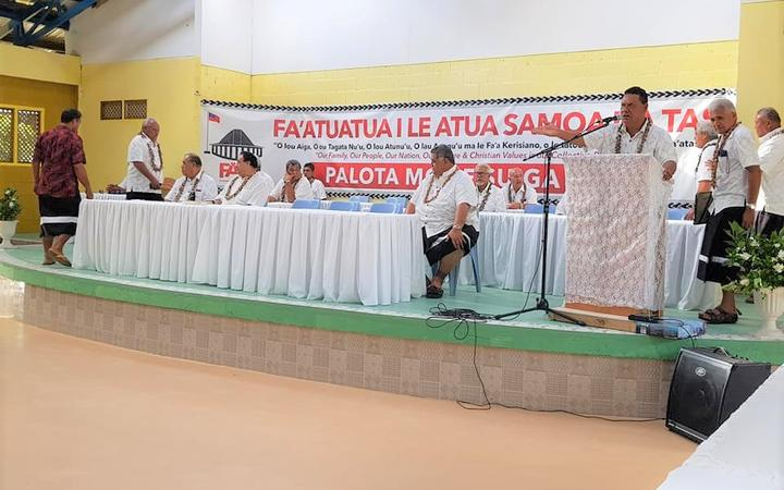 Samoa's FAST party has campaign slowed by matai