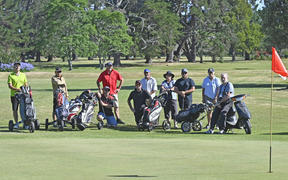 Gisborne Park Golf Club members are opposed to the idea of chopping their course in half.