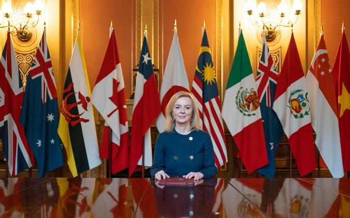 UK international trade secretary Liz Truss is expected to approach NZ about joining the CPTPP tomorrow.