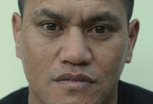 "Teina Pora portrait from the exhibition  ""No Free Man: To No One Deny Justice"" by Nigel Swinn."