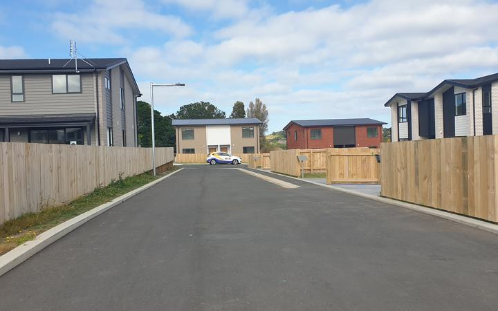 The KiwiBuild development in Marfell, New Plymouth