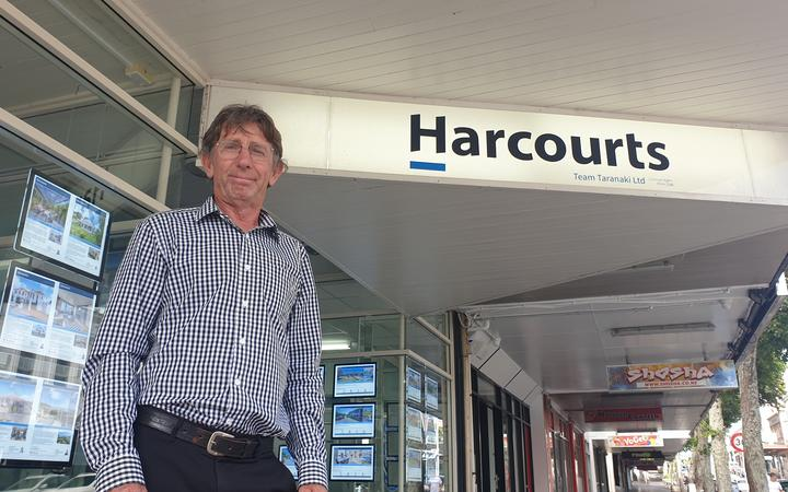 Harcourts project co-ordinator Mike Powell