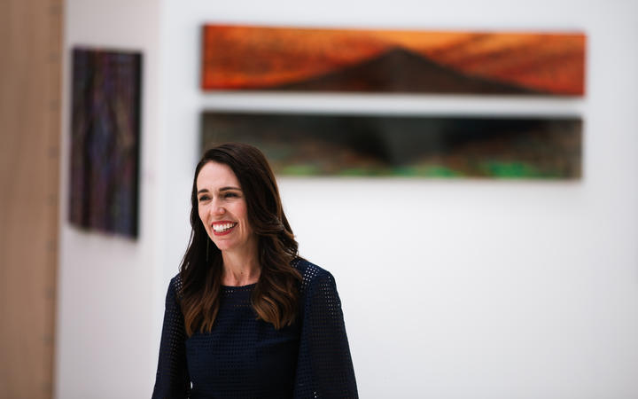 Prime Minister Jacinda Ardern at the Hihiaua Centre in Whangārei on 5 February, 2021