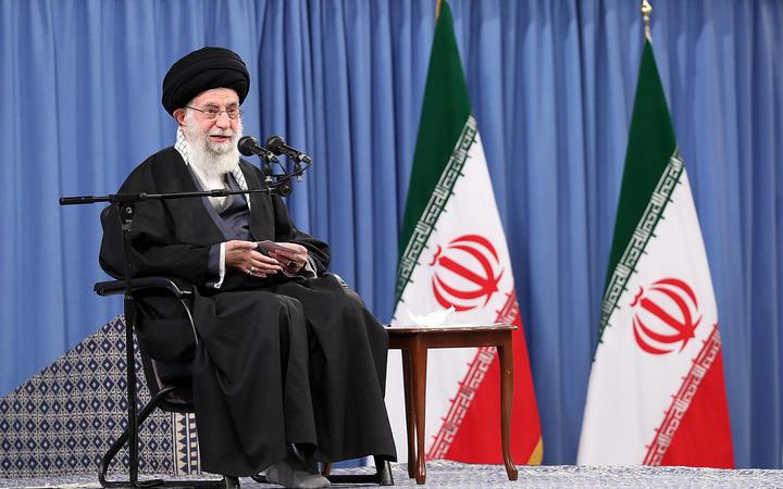 Le guide suprême iranien, l'ayatollah Ali Khamenei, le 7 février 2021.