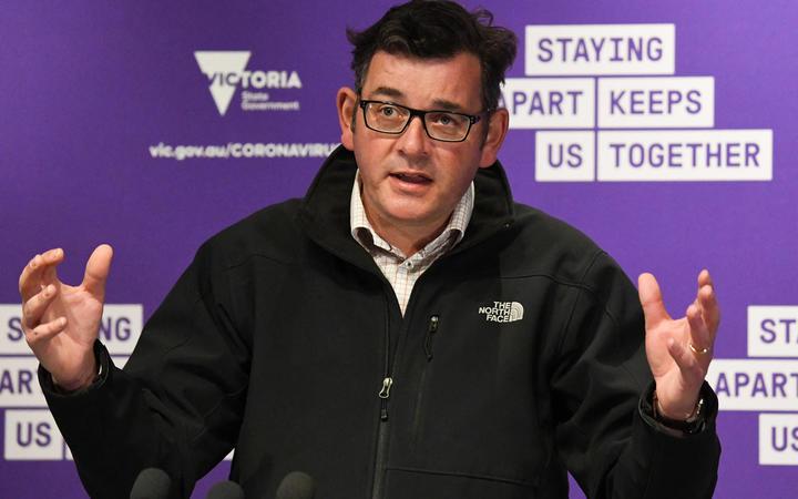 Australia's Victoria state Premier Daniel Andrews