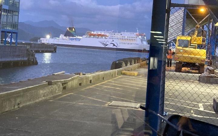 International ferry in Paktin.