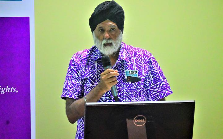 University of the South Pacific (USP) vice-chancellor and president, professor Pal Ahluwalia.
