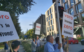Christchurch apartment owners protest ongoing claims processes with Vero, 10 years since the February 22 quake.