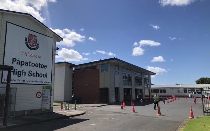 Papatoetoe High School on Thursday February 18th.