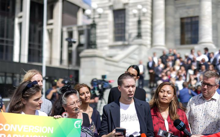 Former victim of gay conversion therapy lauds government's move to ban it