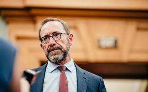 Health Minister Andrew Little 17/02/21