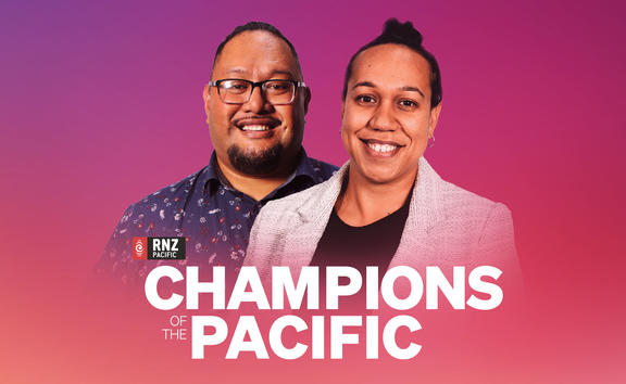 Koro Vakauta and Talei Anderson present a new weekly show, Champions of the Pacific