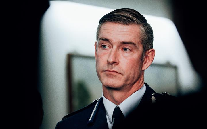 Police Commissioner Andrew Coaster.