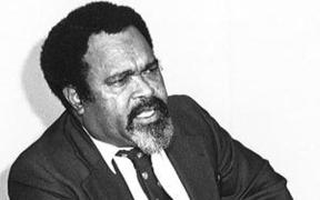 Sir Michael Somare became Papua New Guinea's first prime minister in 1975.