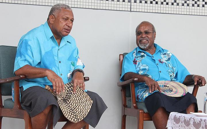 Fijians pay tribute to Somare