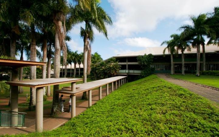 USP campus in Fiji