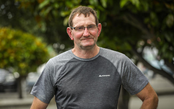 Ken Hird had to learn to walk again after breaking his neck in three places.