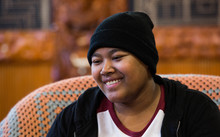 "A young woman suffering from cancer known as""B"" at Te Puea Marae"