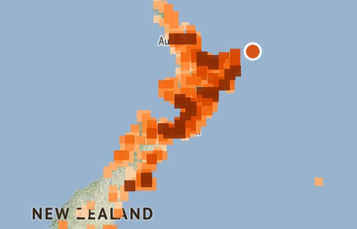The North Island has been shaken awake by a 7.2 magnitude earthquake.