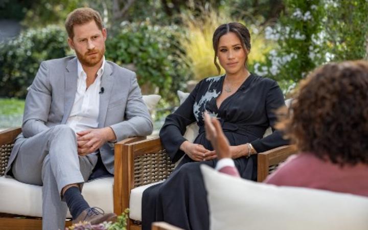 RENCONTRE SUR INTERNET Entretien du prince Harry et de Meghan avec Oprah diffusé aux États-Unis