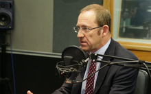 Andrew Little in the RNZ Auckland studio