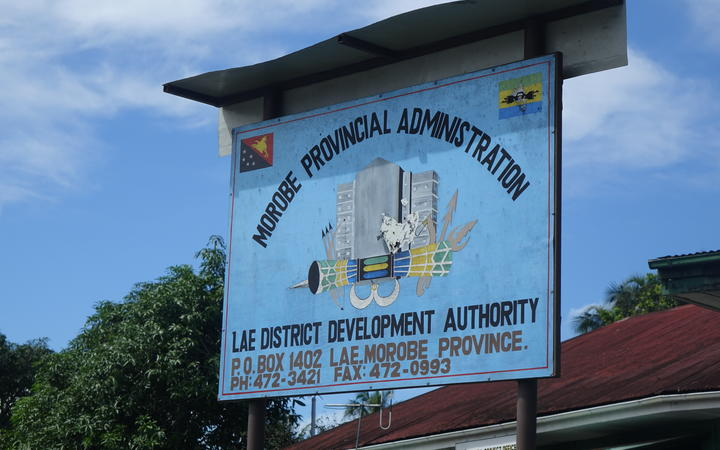 Morobe Provincial Authority headquarters in Lae, Papua New Guinea