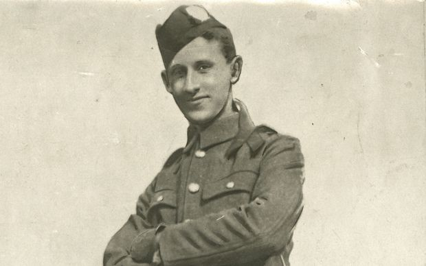 William Manson in uniform of London Scottish Regiment