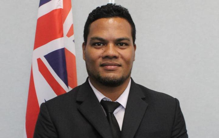 Tuvalu's Minister of Justice, Communication and Foreign Affairs Hon. Simon Kofe.